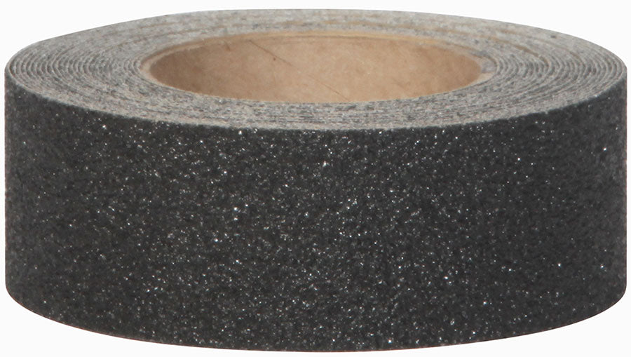 3' x 30' Jessup 3810-3X30 Safety Track Military Grade Marine Heavy Duty Peel and Stick Non-Skid Safety Tape Black Case of 4 Rolls