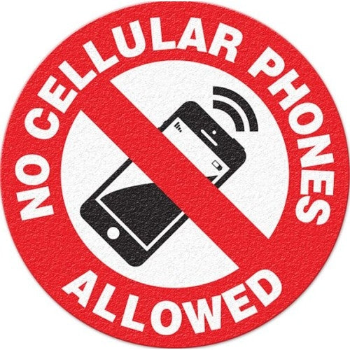 No Cellular Phones Allowed - FS1039V