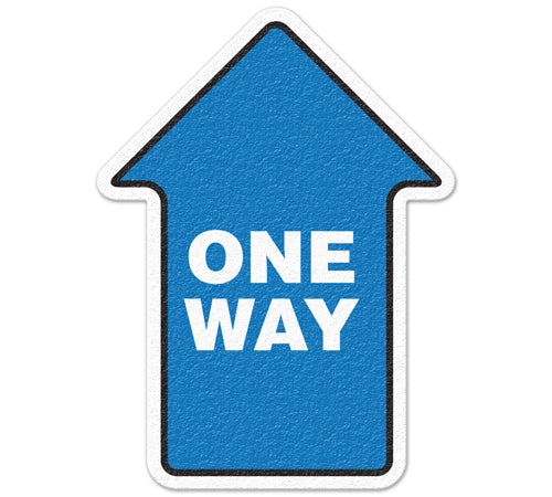 50% Savings at checkout - Use Code 50OFFTODAY - Incom Anti-Slip One Way Floor Sign FS1022V - Limited Stock