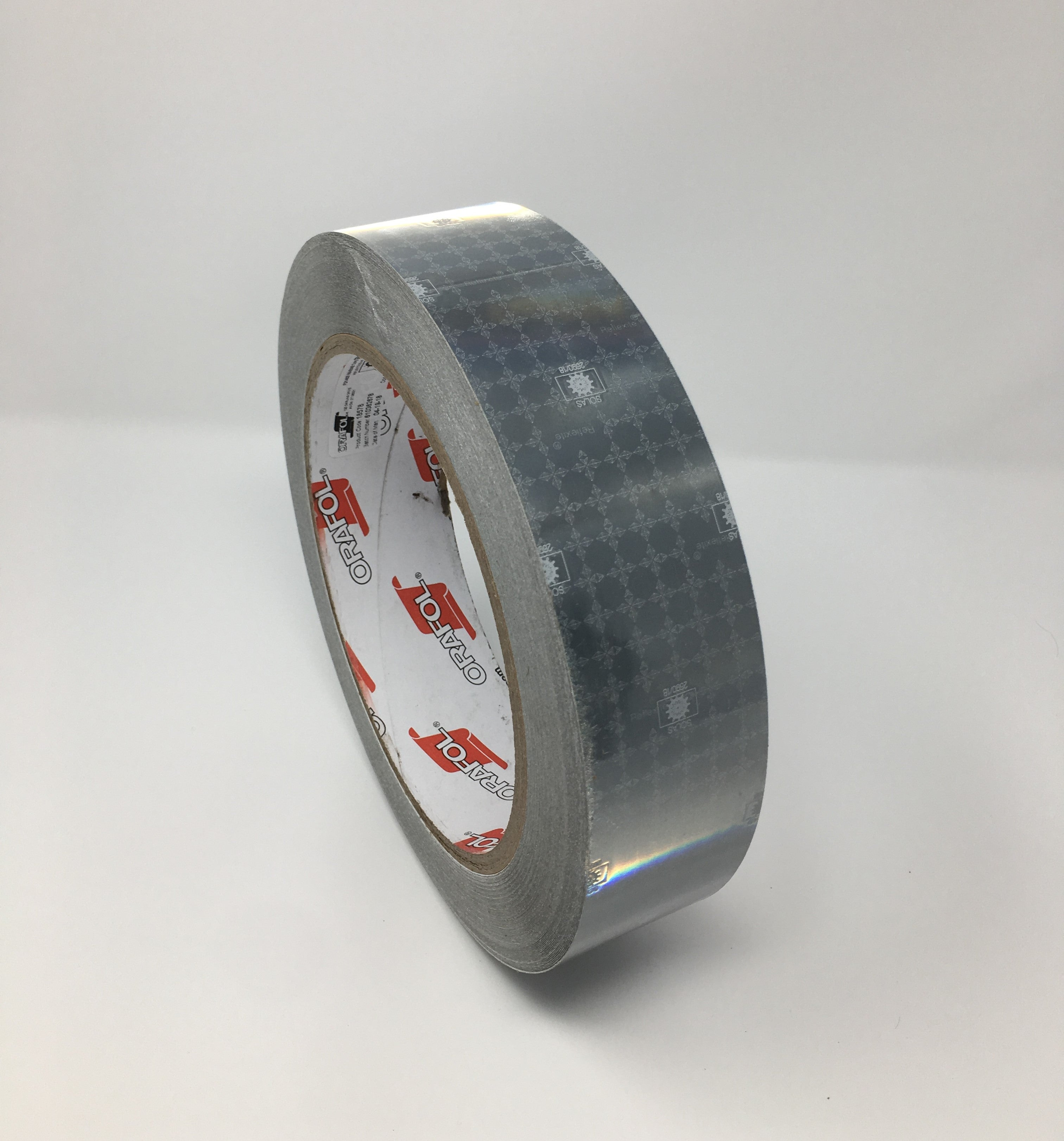 "2"" x 12' Roll Orafol Oralite (Reflexite) M82 SOLAS Reflective Marine Tape Safety of life at Sea Maritime Aids to Navigation"