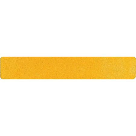 "6"" X 36"" Tread Extreme Adhesive Medium Grit Abrasive Anti Slip Tape Treads Yellow 85808EM SOLD PER PIECE"