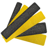 "6"" X 24"" Tread Extreme Adhesive Medium Grit Abrasive Anti Slip Tape Treads Yellow 84808EM Case of 12"