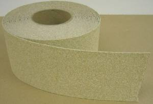 "2"" X 60' Foot Roll Master Stop Abrasive Grit Anti Slip Non Skid Safety Tape Beige 88207 Case of 6 Rolls"