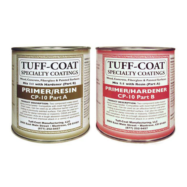 Tuff Coat Non Skid Coating Primer CP-10 (concrete, wood, fiberglass, painted surfaces)