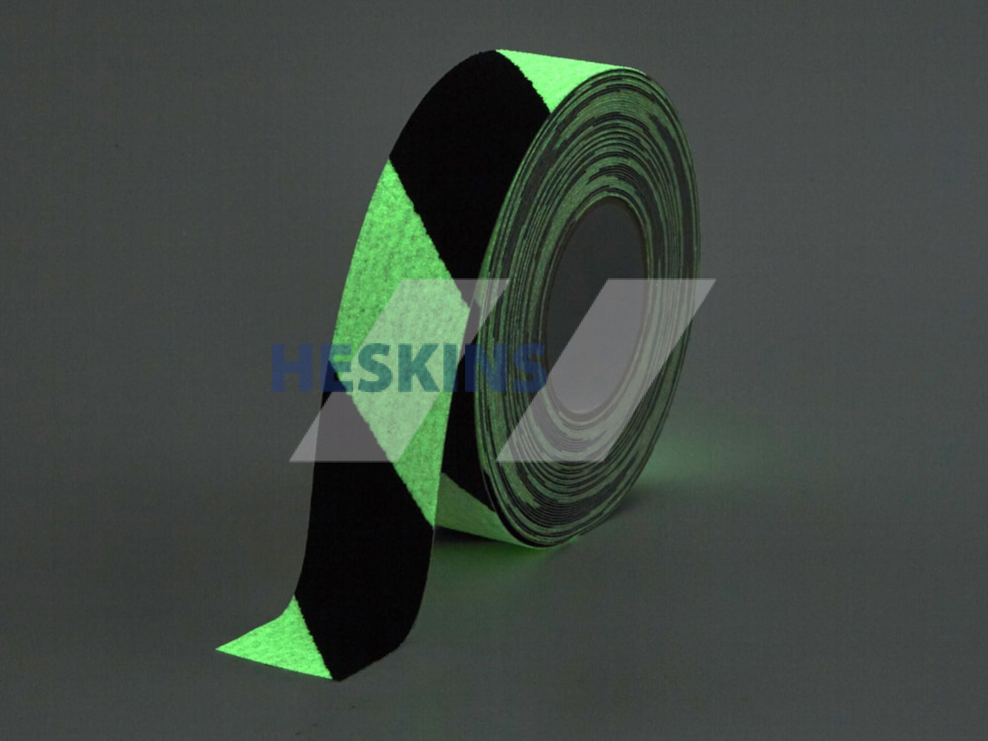 Heskins Safety Grip Hazard Glow in the Dark Anti Slip Tape - Multiple Options