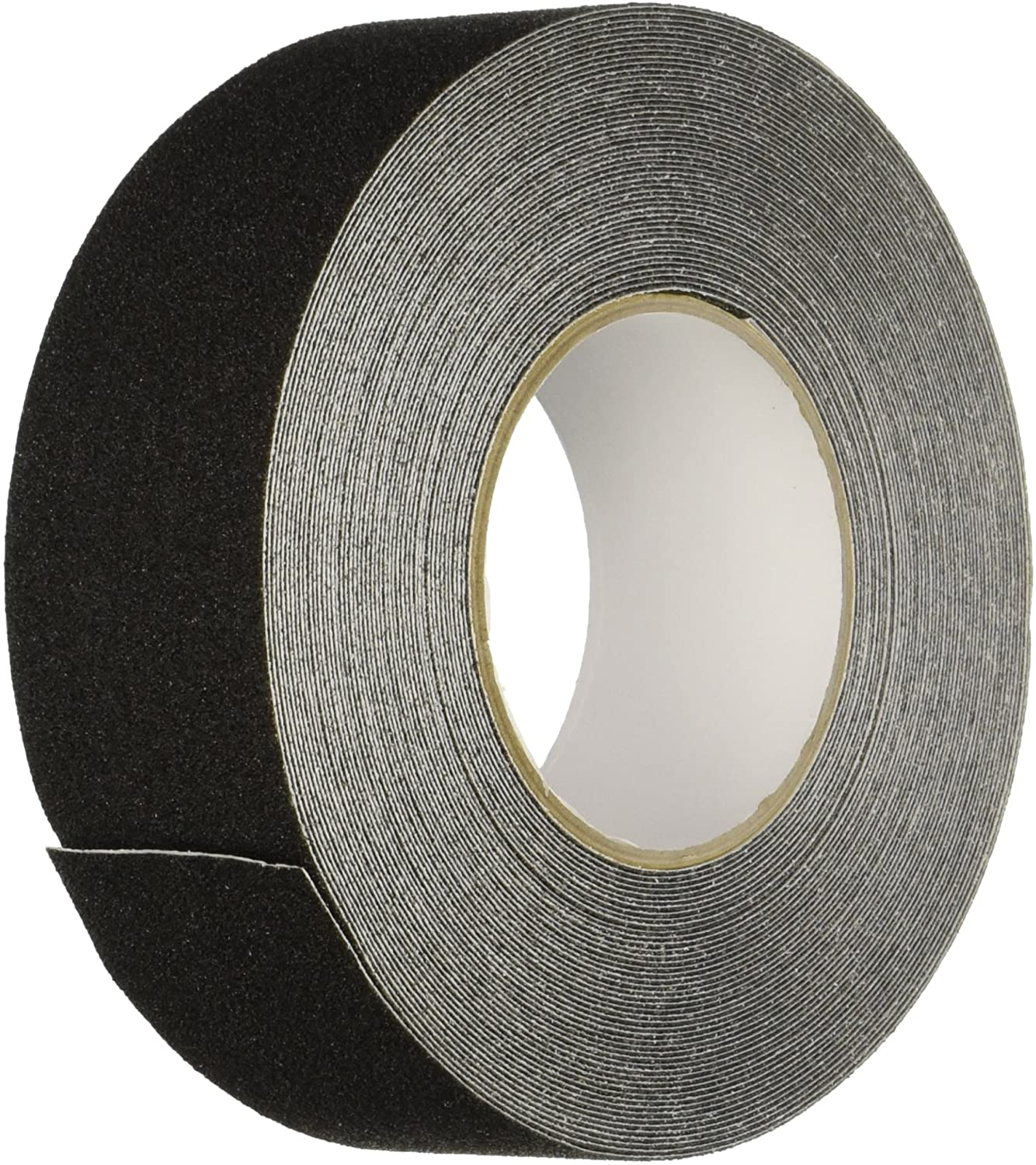 "1"" X 60' Foot Roll Heskins Safety Grip Anti Slip Tape Black NSTS1N - Pkg. of 2"