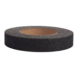 1' x 30' Jessup 3810-1X30 Safety Track Military Grade Marine Heavy Duty Peel and Stick Non-Skid Safety Tape Black Case of 12 Rolls