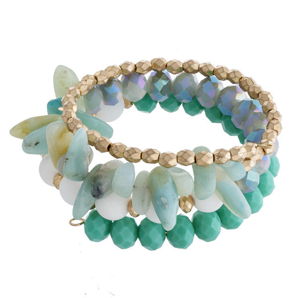 By The Sea Stretch Bracelet