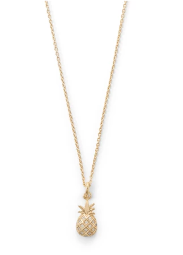 Pretty Pineapple Necklace