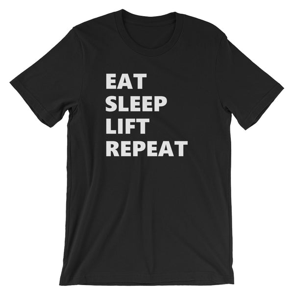 Eat - Sleep - Lift - Repeat T-shirt - AyoTee