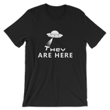 They Are Here - UFO T-shirt - AyoTee