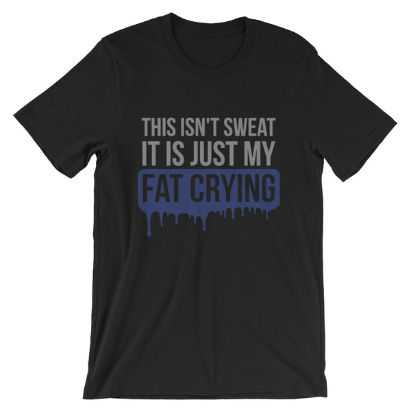 Fat Crying Exercise Tshirt - AyoTee