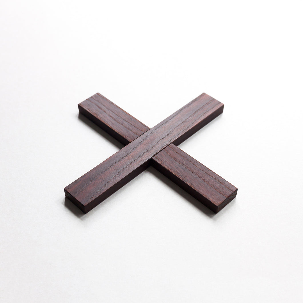 Minumo modern dark wooden trivet pliksplaks for nordic kitchen