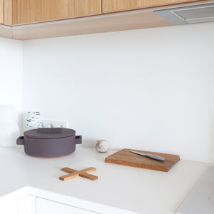 Minumo minimal design products in scandinavian white kitchen