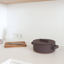 Load image into Gallery viewer, Minimal architect lovers modern serving and cutting board in nordic kitchen