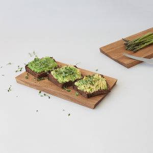 Modern sandwich plate for scandinavian design lover in minimalist style by estonian design brand Minumo