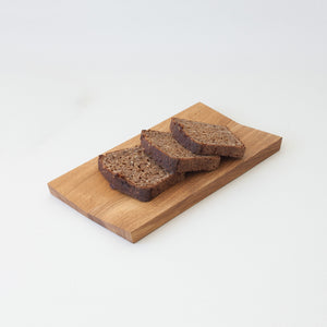 Minumo serving board from oak for tapas and bread cheese plate