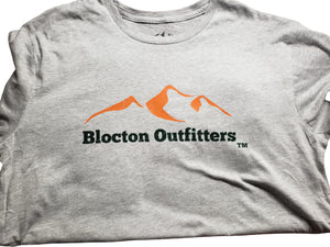 Blocton Outfitters Distressed Logo T-Shirt