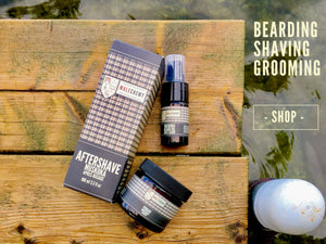 Natural men's skin care, grooming, and beard products
