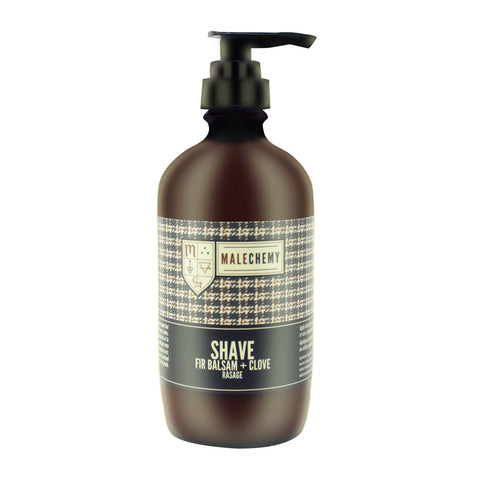 Natural shaving cream for men