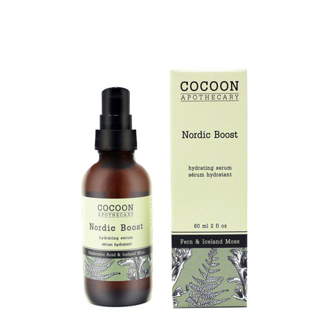 natural hydrating serum with hyaluronic acid
