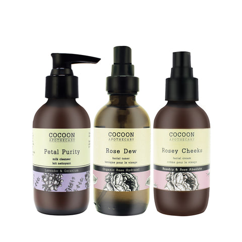 skin care set for normal to dry skin
