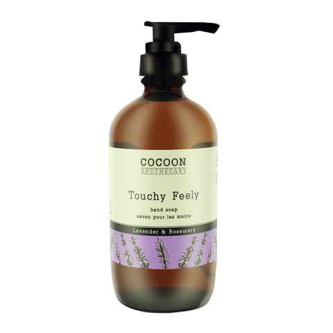 eco-friendly rosemary and lavender hand soap