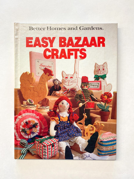 The Find: better homes & gardens easy bazaar crafts