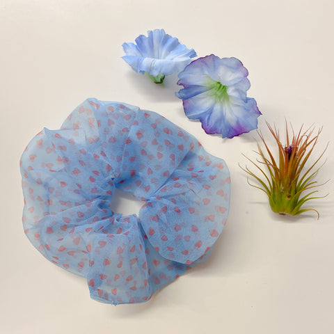 big chiffon scrunchie 2 pk