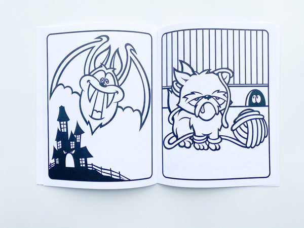 unusual animal friends coloring book