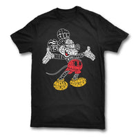 Mickey Mouse Typography Tee