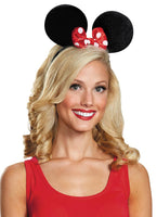 Minnie Mouse Adult Ears Deluxe