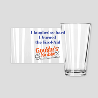 CNJ - Laugh Hard Pint Glasses