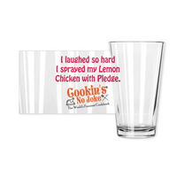 CNJ - Lemon Chicken Pint Glasses