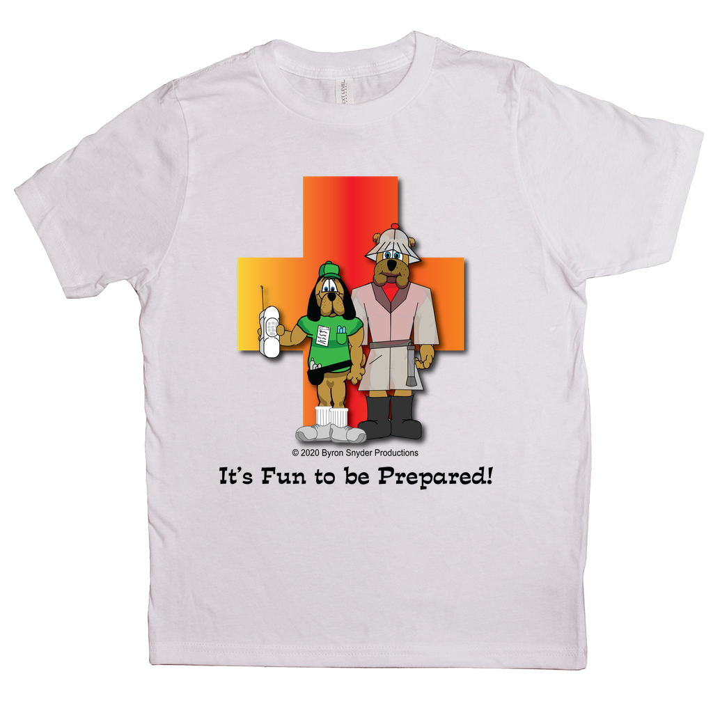 """It's Fun to be Prepared!"" T-Shirts (Youth Sizes)"