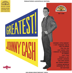 JOHNNY CASH  - GREATEST!  (Vinyl Record)