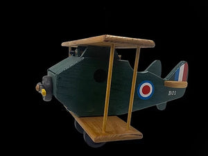 WW1 British Biplane Birdhouse