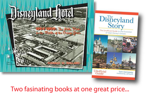 A Disneyland Deal - Disneyland Hotel 1954-1959 Book plus the Disneyland Story Book