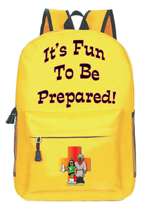 """It's Fun to be Prepared!"" the Kid's Closet Go-Bag"