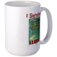 "I Survived Reading ""The Curse of the Sultan's Treasure"" Mug"