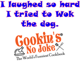 CNJ - Cookin's No Joke Mug Set plus Cookbook
