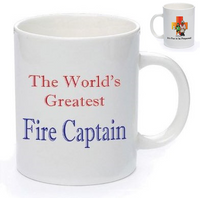 IFTBP World's Greatest Fire Captain Mug