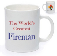 IFTBP World's Greatest Fireman Mug