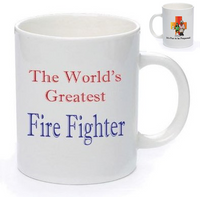 IFTBP World's Greatest Fire Fighter Mug