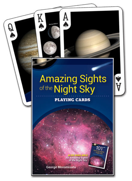 Amazing Sights of the Night Sky Playing Cards