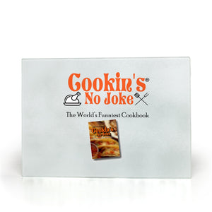 Cookin's No Joke Glass Cutting Board