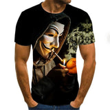 2020 New Men's T-shirt Fashion in variety of images