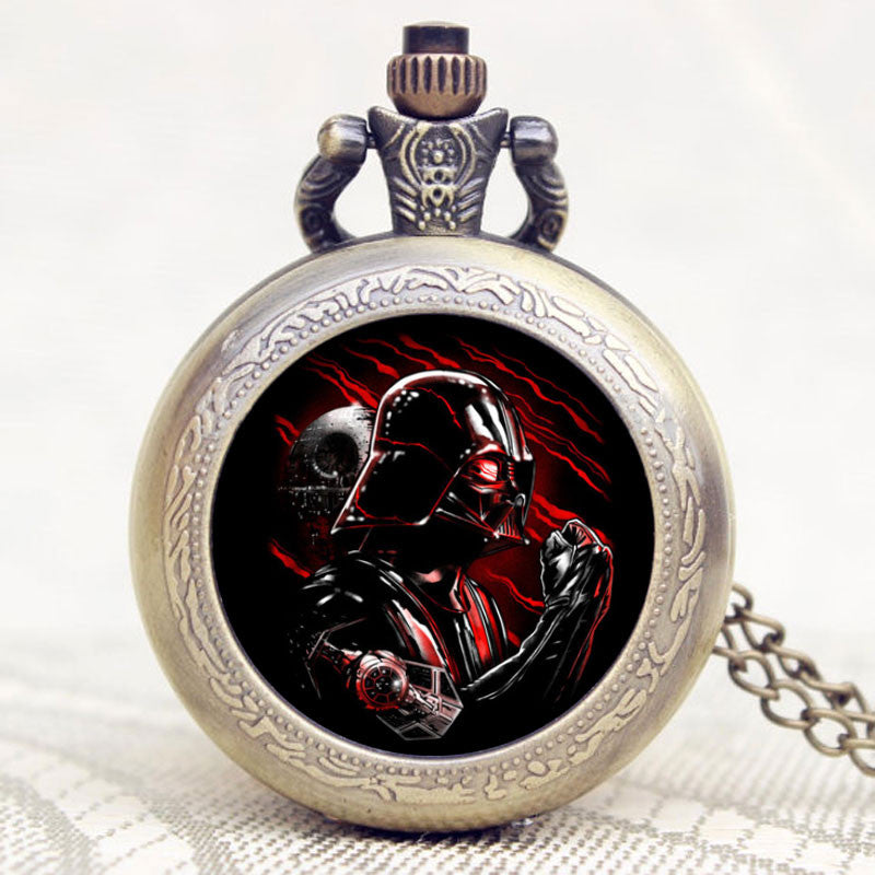 Star Wars Darth Vader's Shield Theme Pocket Watch