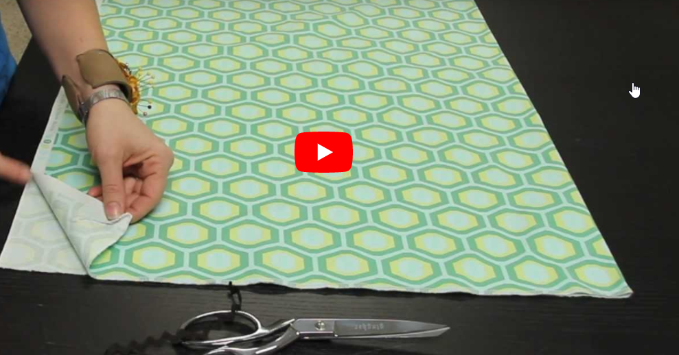 Learn to Sew: How to Lay Out Your Fabric