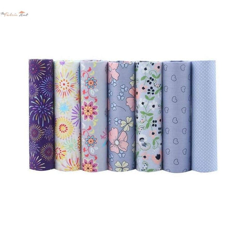 Fat Fifth Bundle - Fireworks And Flowers - Set of 7 - The Fabric Hut